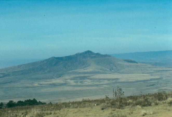 Longonot Volcano.