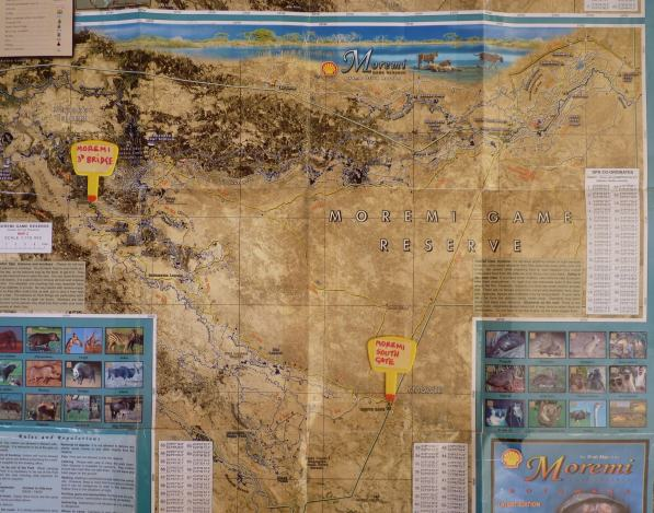 Moremi map