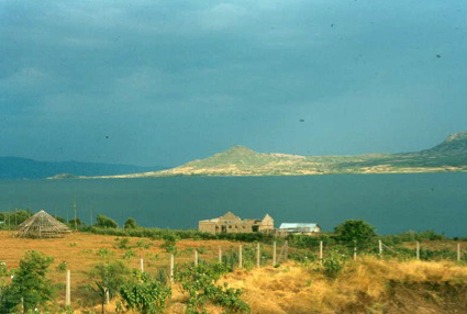 Part of Rusinga Island seen from Mbita Point.