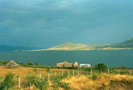 Part of Rusinga Island seen from Mbita Point.