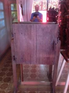 A simple old cabinet...