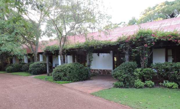 Rincon del Socorro: guest accommodation area.
