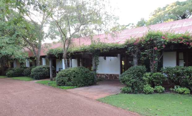 Rincon del Socorro: guest accommodation area.