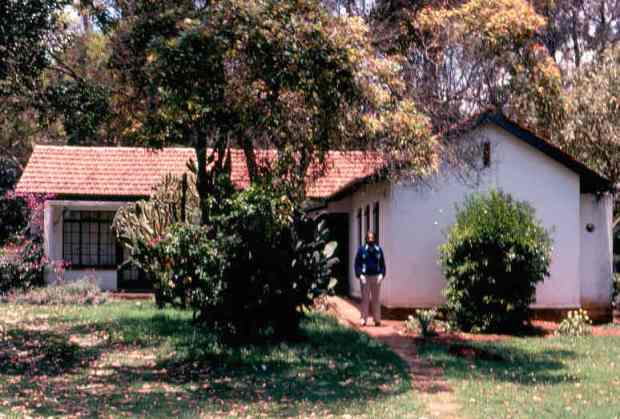 Our bungalow at Muguga House.