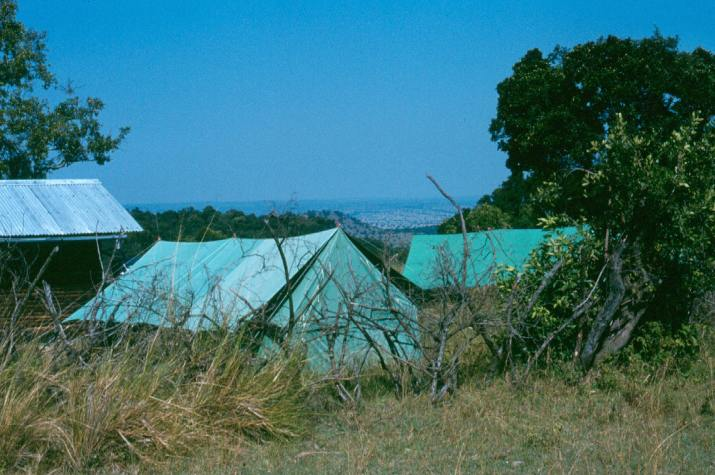 The herdsmen camp at Intona ranch.
