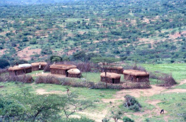 A Manyatta.