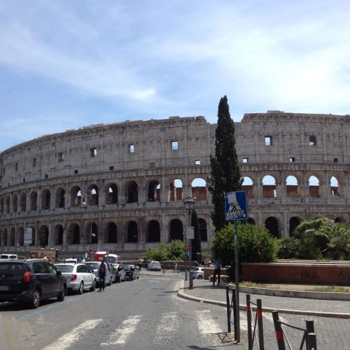 The Colosseum never fails to amaze.