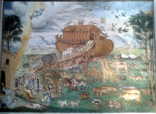Noah's Ark by Aurelio Luini.