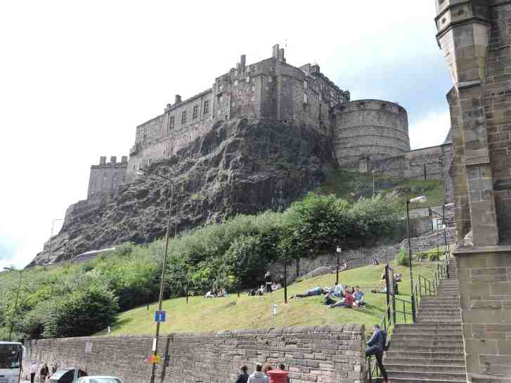 Edinburgh's castle, unmissable!