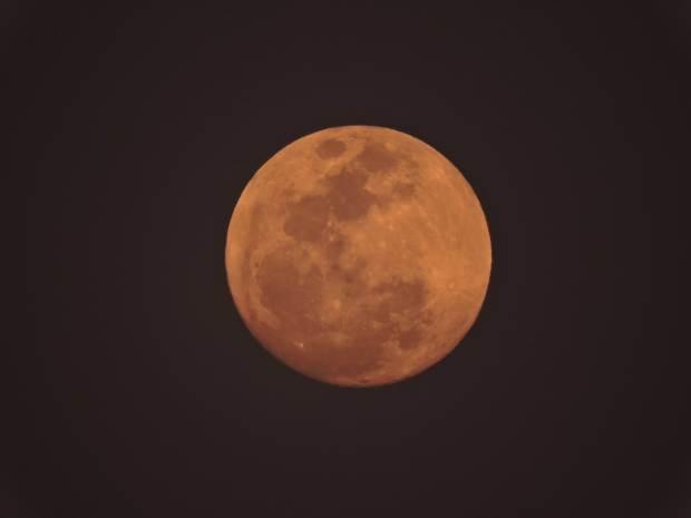 The full moon gave us good light.