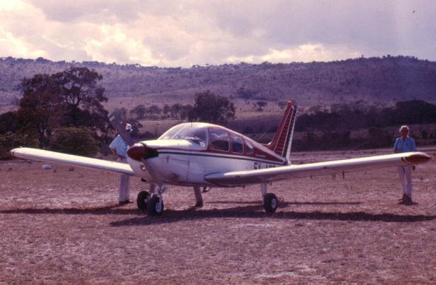 "One of our ""bush flights"" to Intona ranch in the Transmara."
