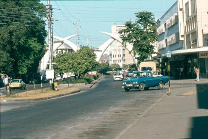 Mombasa city centre.