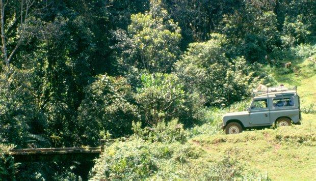Land Rover Kakamega forest