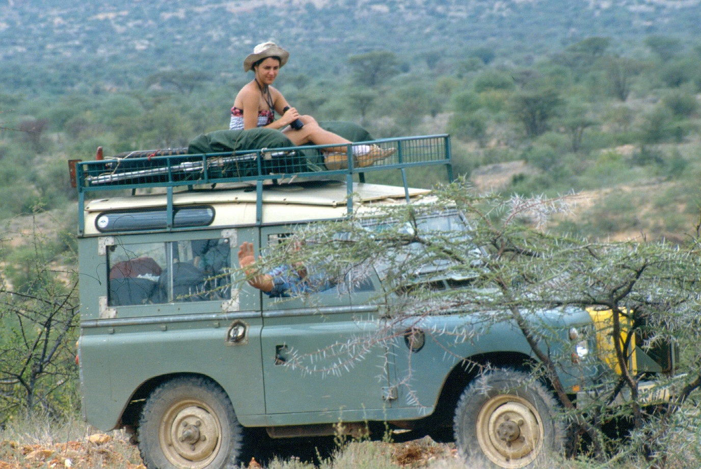 Land Rover M Mara with Mc on top