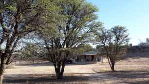 Our cottage at Kalahari Trails.