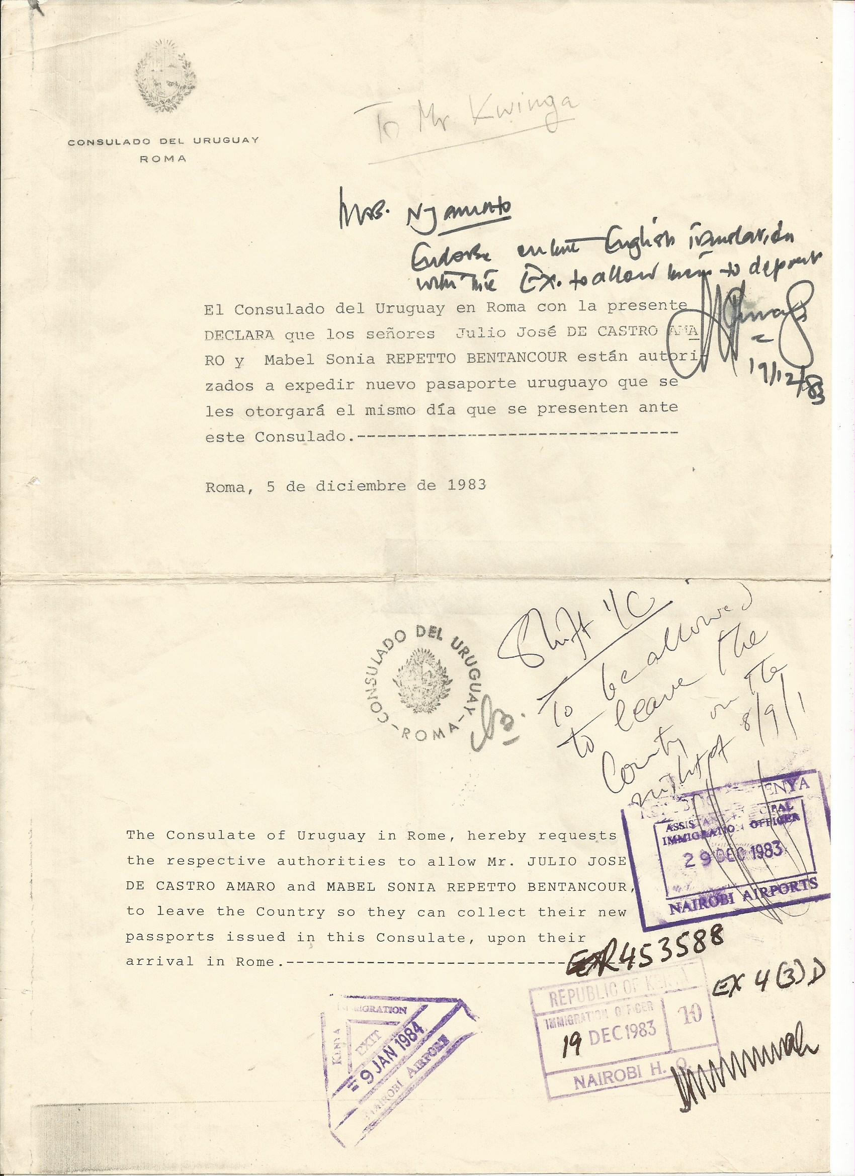 Kenya passport copy