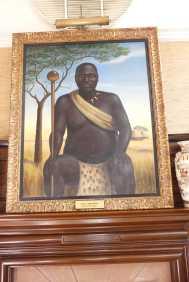 King Lobengula.