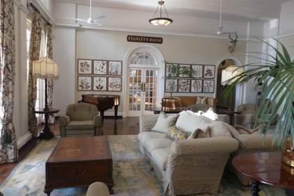 Palm lounge.