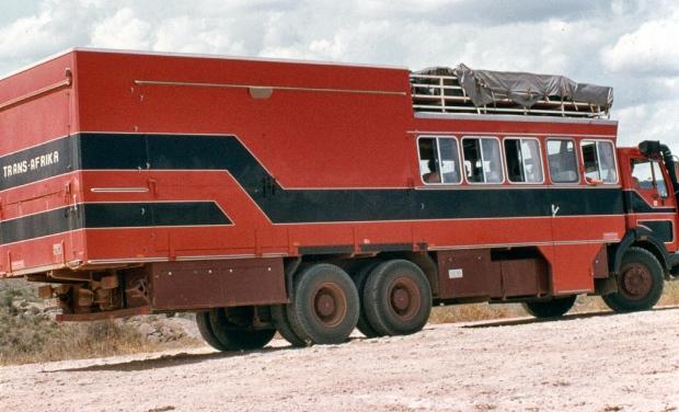 Tsavo e lugard falls turist german truck
