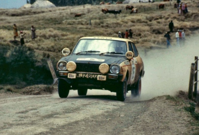 1982 Frank Tundo north kinangop safari rally