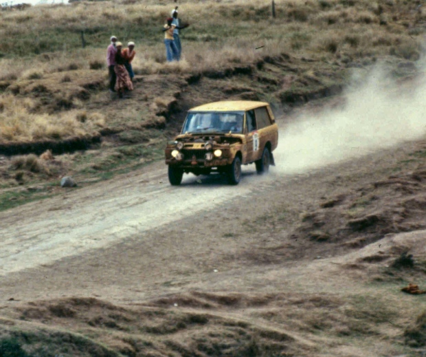 1982 north kinangop safari rally collinge's r rover
